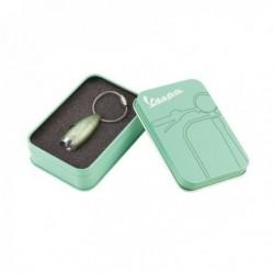 Porte-clefs façon lampe torche à led vert amande