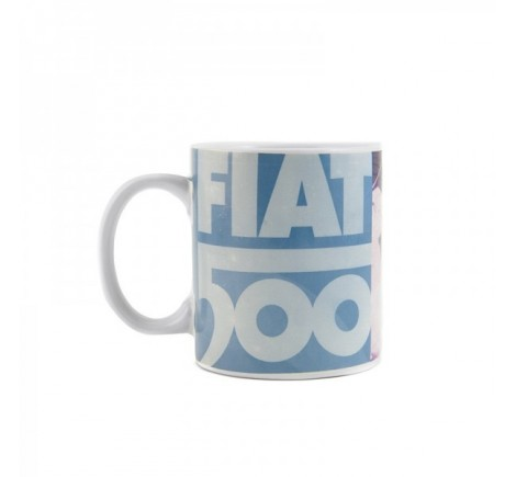 Mug Fiat 500 illustré