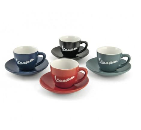 Set de 4 tasses à café Vespa