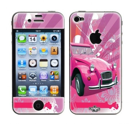 Coque Iphone 2 cv versions 5C et 5S skin