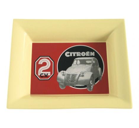 Vide poche en céramique 2 CV