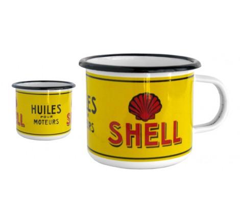 Mug Shell en émail
