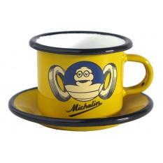 "Tasses à café Michelin ""Roi du Pneu"""