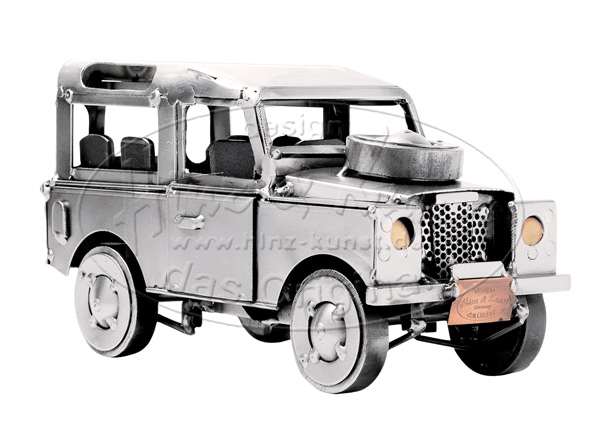 Reproduction Land Rover de Günter SCHOLTZ pour Hinz & Kunst
