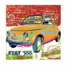 Tableau Fiat 500 ens érie numérotée